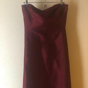 Ralph Lauren Silk Evening Gown. Size 10